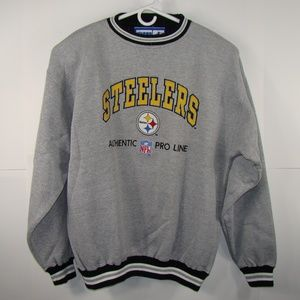 Pittsburgh Steelers Sweater Gray